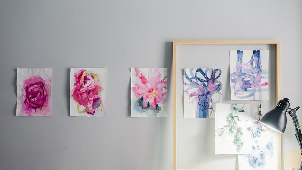Flowers, life and spirituality